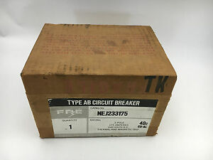 Federal Pacific Nej233175 New In Box 3p 175a 240v Breaker See Pictures d13