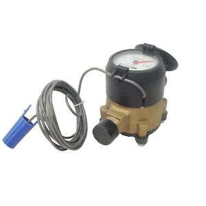 New Elster Amco Invision C700 Mqm15f44 5 8 Cubic Feet Water Meter old Stock
