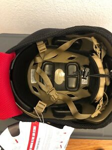 NR!  NEW Ops-Core FAST Base Jump Military Version LARGEXLARGE Bump Helmet FDE