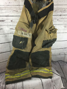 Globe G xtreme Firefighter Bunker Turnout Pants 42 X30 W Therma Liner id 6002