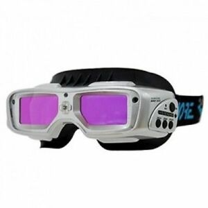 Servore Automatic Dimming Welding Goggles Arc 513 Silver Face Shield_ec
