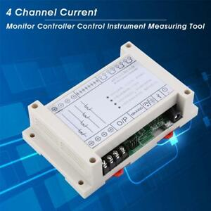 4 Channel Current Monitor Micro Usb Controller Control Instrument Measuring Tool