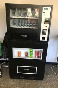 Vending Machine Combo Soda Snack Candy Office Genesis Go 127
