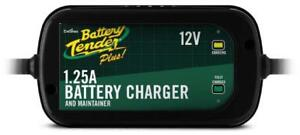 Battery Tender 022 0185g dl wh Black 12 Volt 1 25 Amp Plus Battery Charger maint
