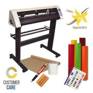 Vinyl Cutter Plotter Heat Press Software Sign T shirt Apparel Business