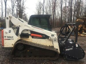 2015 Bobcat T770 With new Bradco Mm60 Forestry Mulcher 2469
