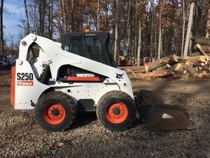 2006 Bobcat S250 With Brand New 78 Ffc Snow Blower 2471