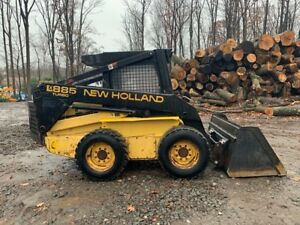 New Holland Lx885 Turbo Skid Steer 2472