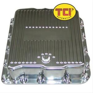 Tci Auto Automatic Transmission Pan Stock Aluminum Polished Gm 700r4 4l60e Kit