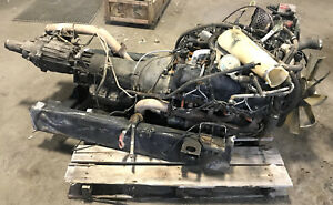 Military Hmmwv 6 5l Non Turbo With 3 Speed Auto Trans And Np 242 Transfer Case