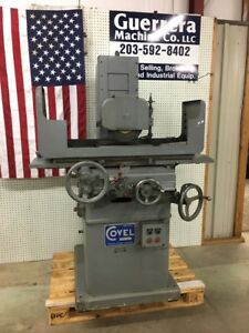Covel Surface Grinder Clausing Excellent Condition
