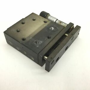Parker Linear Stage Carriage Dimensions 2 625 X 2 625 Travel 0 5