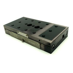Newport 443 Single Axis Linear Stage 46mm Travel 258n Load 1 4 20 6 X 3 X 1
