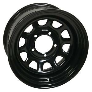 Vision Wheel 84 16x8 5x4 1 2 Steel 2 Piece Black Gloss Each Wheel 84h6865ns