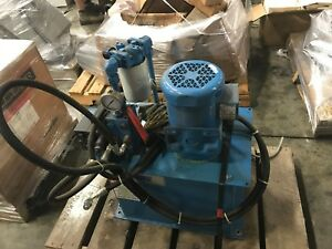 Eaton Vickers Hydraulic Power Unit Pack 4996114 1 5 Hp 3 Phase