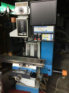 Supermax Cnc Milling Machine Ycm 40 With Centroid Cnc Control