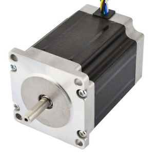 Stepper Motor Nema 23 Cnc Unipolar 1 8deg 1 35nm 191 2oz in 1a 57x76mm 6 Wires