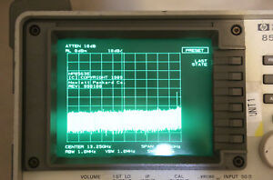 Agilent Hp 8563e Spectrum Analyzer 9khz To 26 5ghz