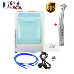 Automatic Dental Handpiece Cleaning Lubricant Lubrication Maintenance System Fda