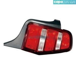 New Right Tail Light Lens Housing Fits 2010 2012 Ford Mustang Fo2819137c Capa
