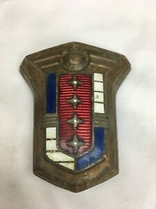 1952 1953 Mercury Hood Emblem Badge Crest