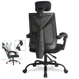 Ergonomic Office Mesh Chair High Back Desk Gaming Chair Reclining Comput