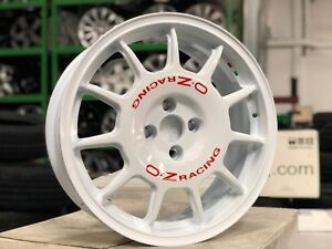 New 17 Inch Oz Leggenda Italy Wheel Set Of 4 4x100 Mini Fiesta Toyota Honda