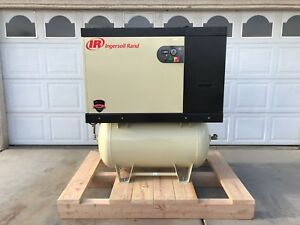 Ingersoll Rand 15hp Variable Speed Air Comp 125psi 230v 3 phase W air Dryer