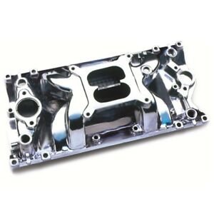 Professional Products 52027 Sbc Chevy Crosswind Air Gap Polished Aluminum Intake