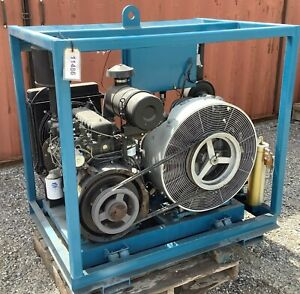 5000 Psig Diesel Engine Driven High Pressure Compressor