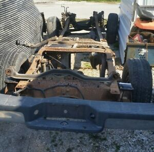 93 Ford Ranger Frame 4x2 Rolling Chassis Hot Rod Rat Rod Project