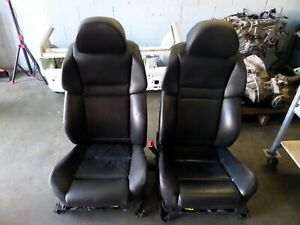 Bmw M5 Front Leather Sports Seats Black E60 05 10 525 528 530 545 550