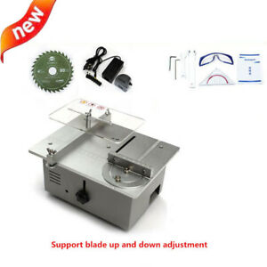 Diy Mini Table Saw Mini Desktop Cutting Machine Bench Saw Woodworking Lathe New
