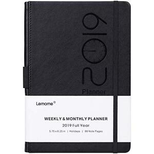 Planner Personal Organizers 2019 Academic Weekly Monthly And Year With Pen To