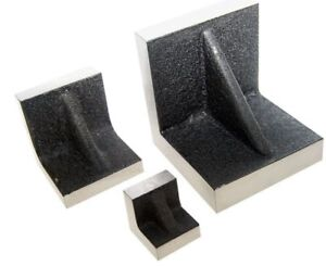 Solid Angle Plates 3 X 3 X 3 Inch With Precision Ground Sides
