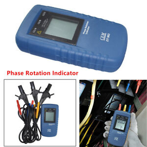 Magical Cem Dt 901 Three 3phase Rotation Indicator Tester Meter Device Ac Catiii