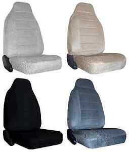 For1977 1991 Chevrolet Blazer Fs 2 Scottsdale Velour Highback Bucket Seat Covers