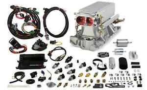Holley Multi Point Fuel Injection Avenger Stealth Ram Speed Density 1000 Cfm Sbc
