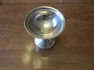 Reed Barton Silver Soldered Goblet Pedestal Bowl Piece 2838 Unknown Age
