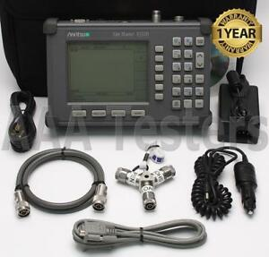 Anritsu Site Master S331b Cable Antenna Analyzer W Option 5 Power Monitor S331