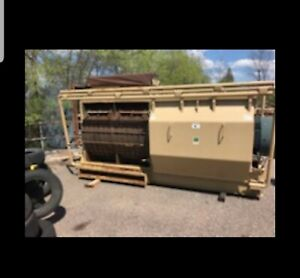 4460 Bliss Industries Hammer Mill Hammermill In Good Condition With 500 Hp Motor