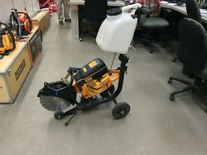 Partner K 1250 Power Cutter 14 W Cart