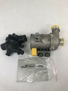 Electric Water Pump thermostat For Bmw 128 235 328 330 525 528 530 X3 X5 X4 New