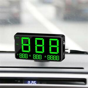 Universal Car Obd2 Digital Speedometer Gps Hud Head Up Display Speed Warn Alarm