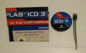 Microchip Dv164035 Debugger Mplab Icd 3 Dspic For Pic Icd3 With User Manual