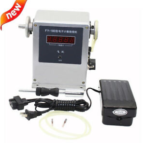 220v Computer Controlled Coil Transformer Winder Winding Machine 0 03 0 35mm New