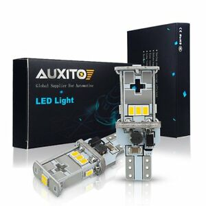 2x Auxito 921 912 Led Backup Reverse Light Error Free Canbus Hid White Bulbs Aa