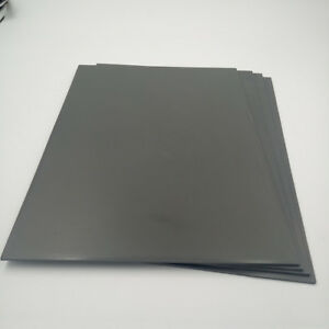 6pc Grey Rubber Sheet A4 Size 2 3mm Thickness For Laser Cutting Rubber Stamp