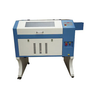60w 4060 Laser Engraver Cutter For Wood Acrylic Leather Rubber Stamp