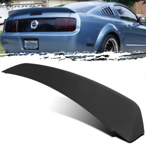 For 05 09 Mustang Gt500 Duck Tail Style Unpainted Trunk Deck Lid Spoiler Wing